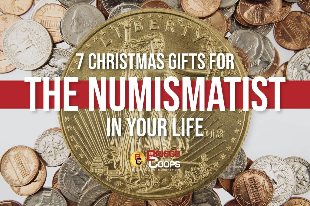7 Christmas Gifts for the numismatist in your life