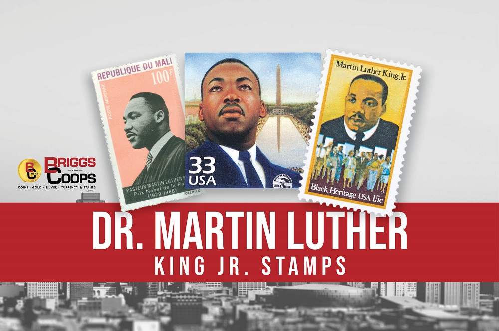 Martin Luther King Junior Stamps